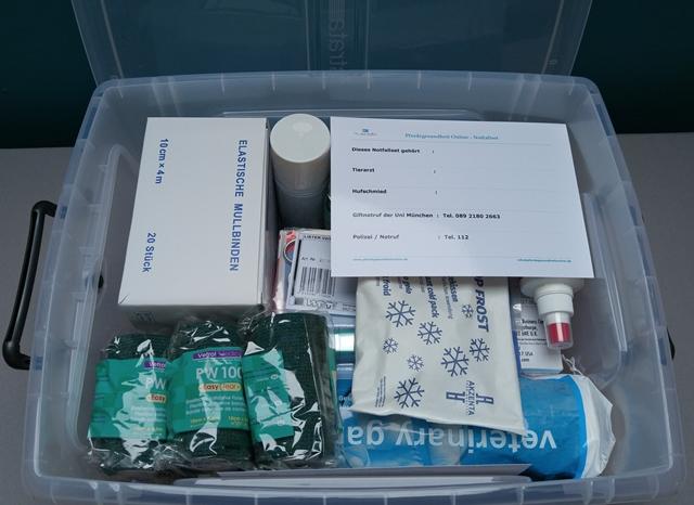 Erste Hilfe – Notfallset In Der Box – Griffbereit Im Stall Und Unterwegs